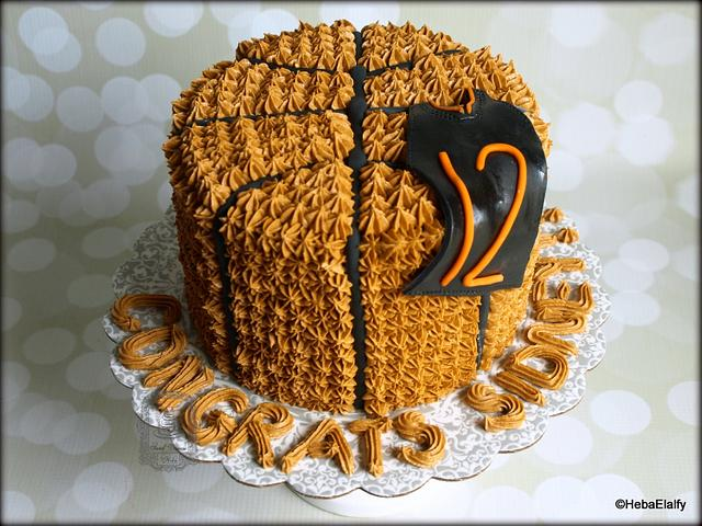 Sidney's High School graduation cake
