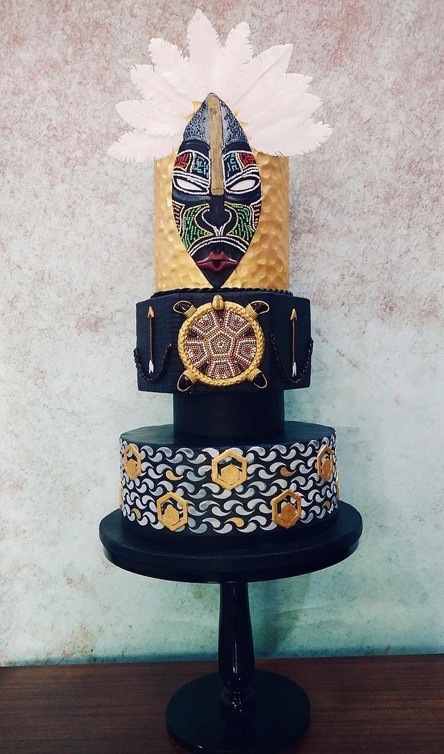 Native American Arteffect cake