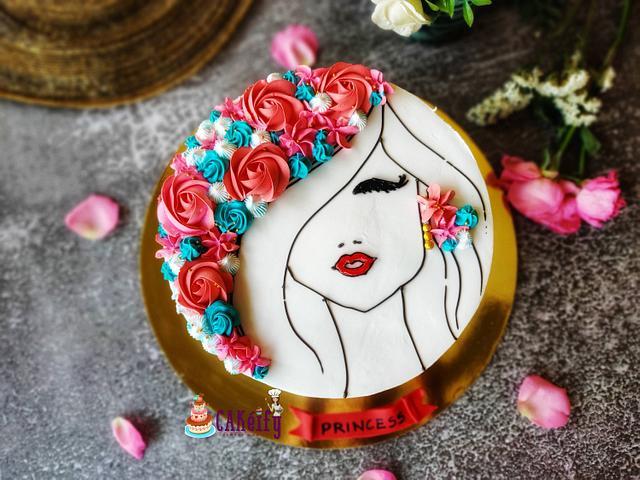Cake for pretty Girl