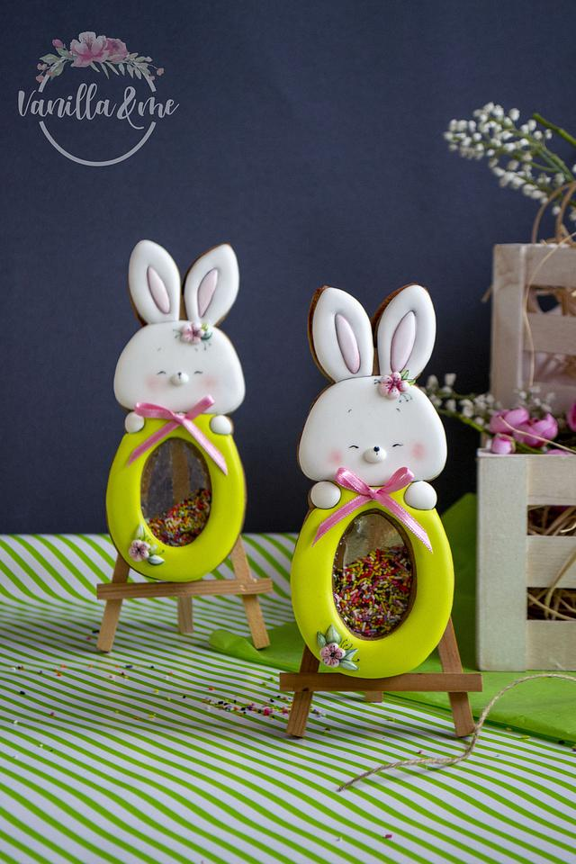 Easter bunny with isomalt