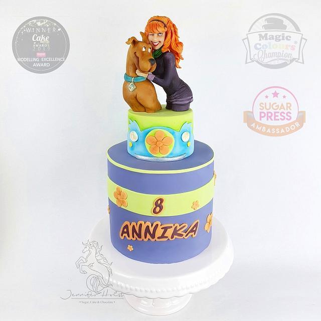 Surprising Scooby Doo Birthday Cake Cake By Jennifer Holst Cakesdecor Funny Birthday Cards Online Elaedamsfinfo