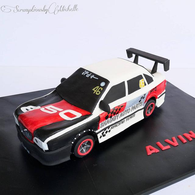 3D Volvo 850 car cake
