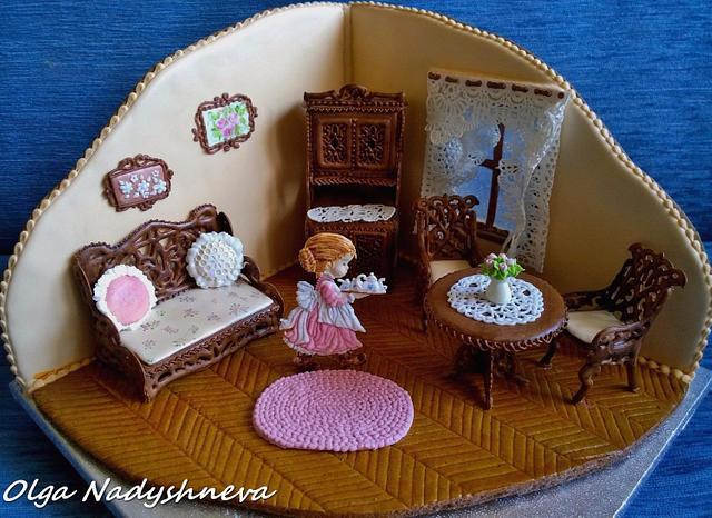 Gingerbread Living room