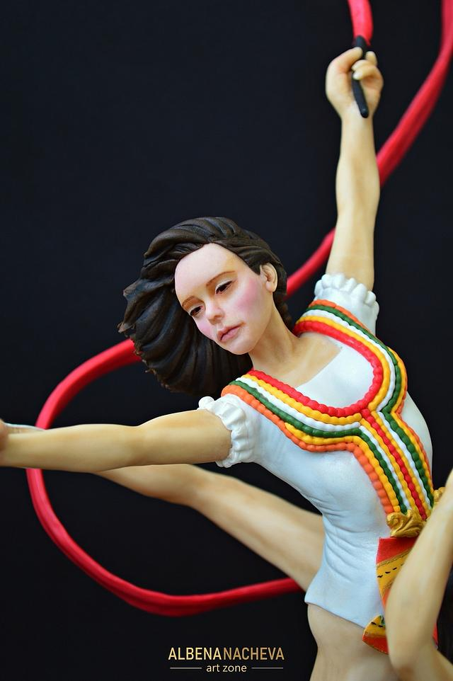 """The Golden Girls of Bulgaria"" in the rhythmic gymnastics"