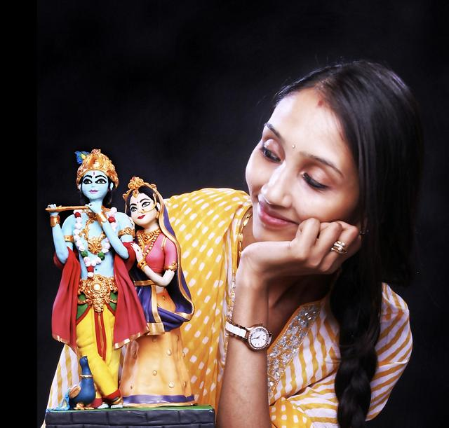 Radha Krishna by THE FROST GODDESS