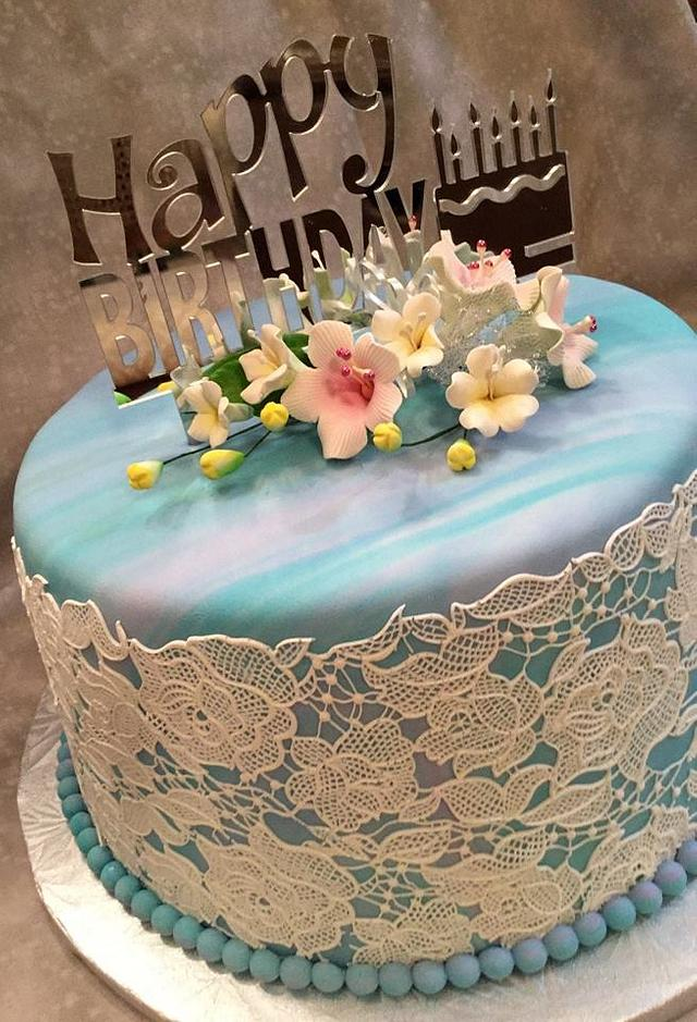 Happy Birthday Cake Cake By Susan Russell Cakesdecor