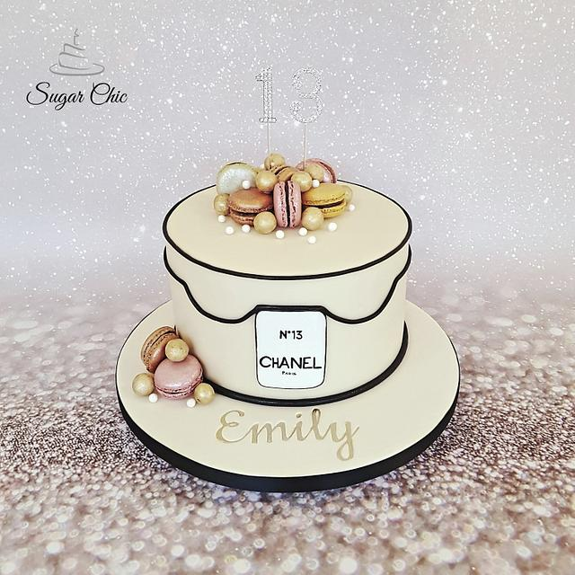 Prime Designer Birthday Cake Cake By Sugar Chic Cakesdecor Funny Birthday Cards Online Fluifree Goldxyz