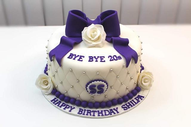30th Birthday Theme Cake