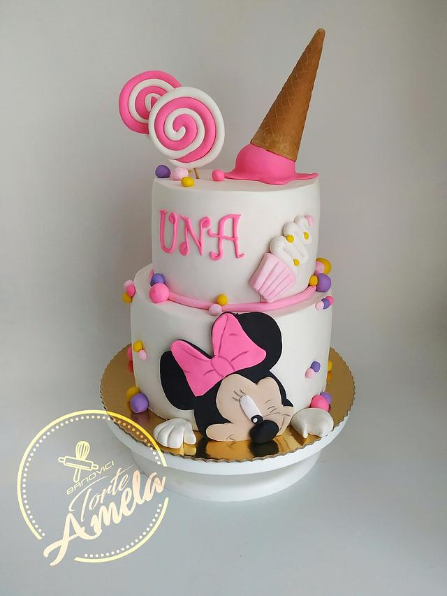 Unas minnie cake