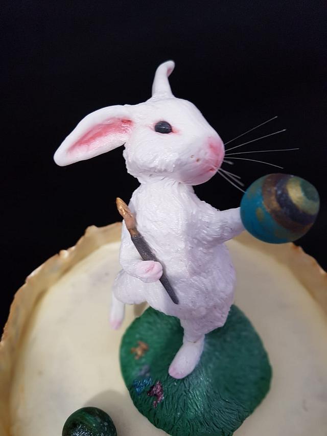 Painter Bunny