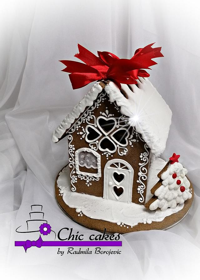 Gingerbread houses- large
