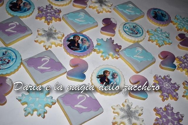Frozen2 cookies