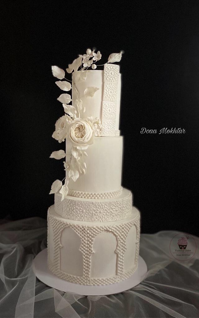 Islamic decoration wedding cake