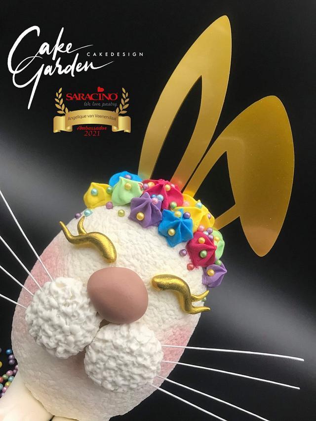 Easter Bunny Egg cake