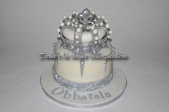 Obbatala cake