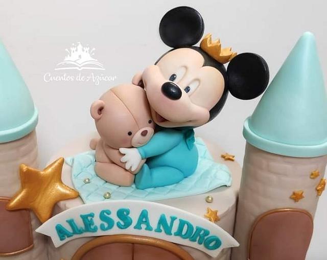 Mickey castle💕😊