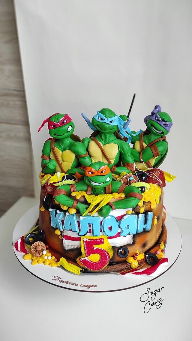 Teenage Mutant Turtles Ninja