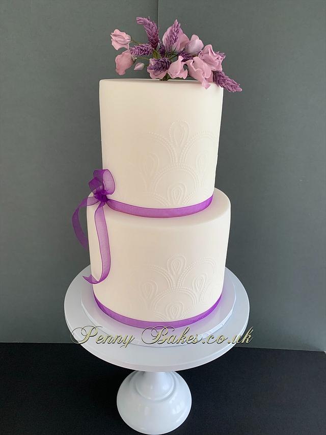 A celebration cake