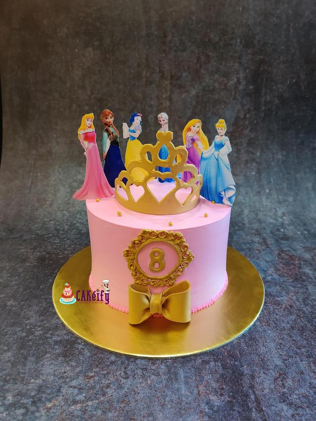 Cake for Disney princess lover