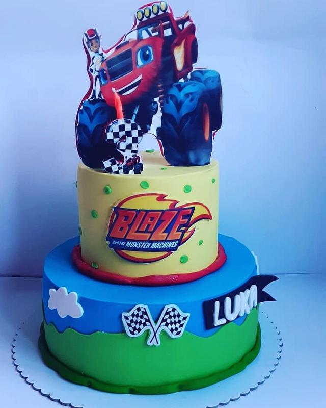 BLAZE cake