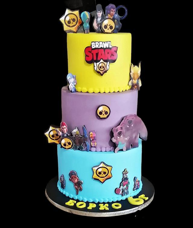 Browl stars Cake