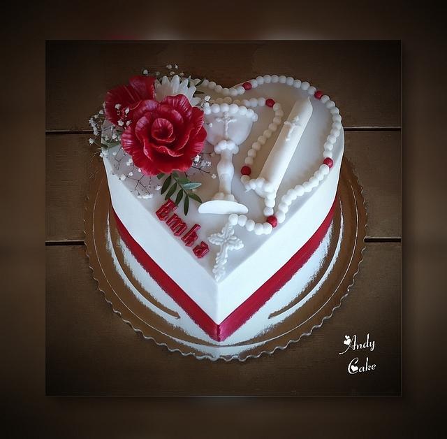 First holy comunnion cake