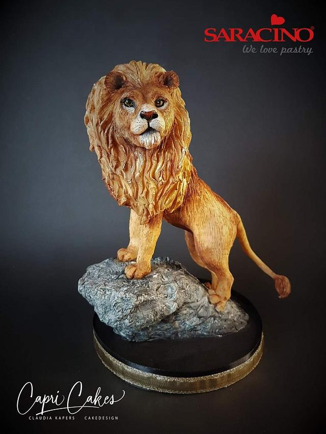 Aslan from The Chronicles of Narnia.