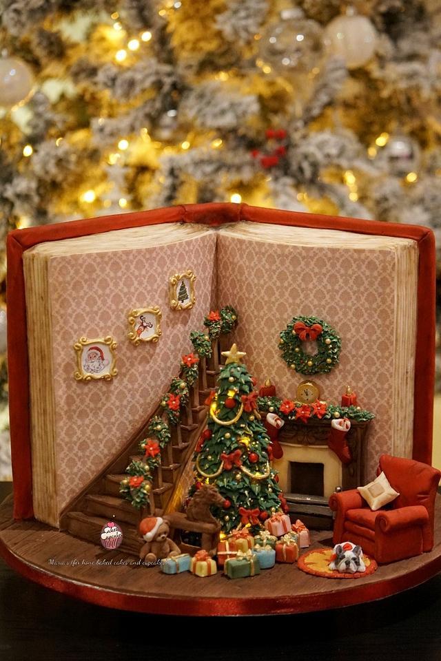 Christmas Cake - 'Twas the Night before Christmas