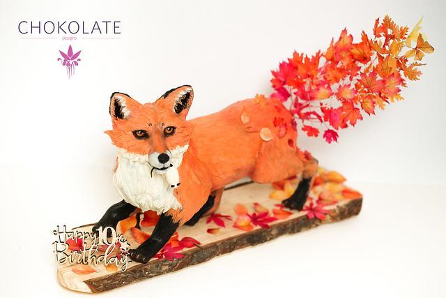 Fox Cake