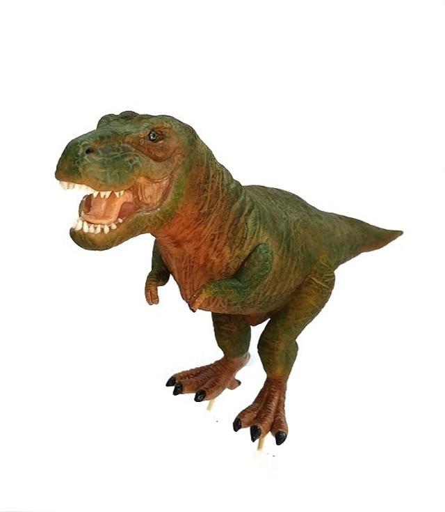 Dinosaur fondant cake topper T-Rex