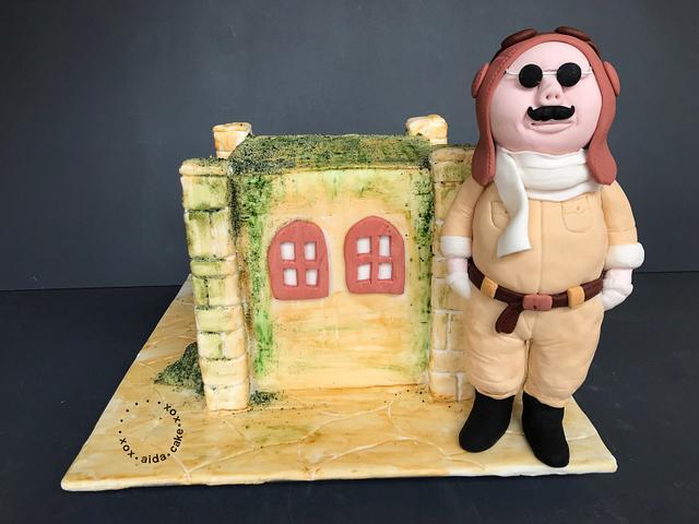 Porko Rosso Cake