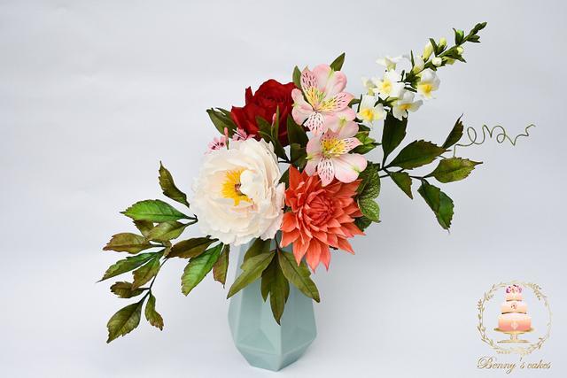 My floral display