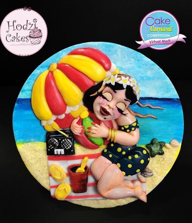 Beach Lady 🏖🌊