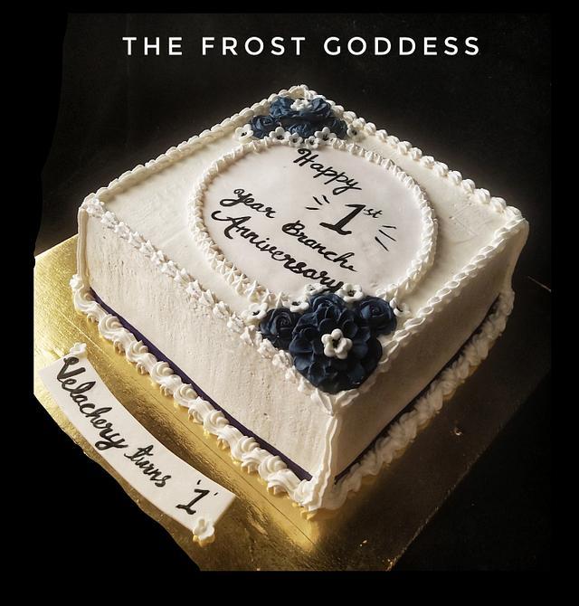 Classic anniversary cake