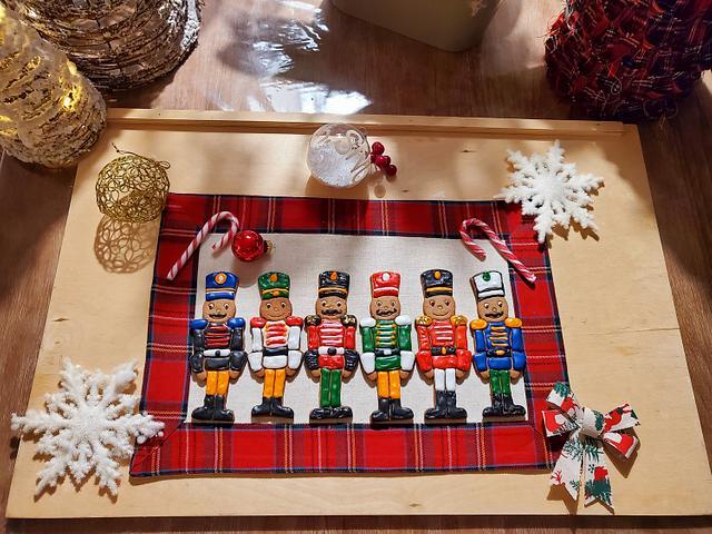 Soldatini e casette natalizie 🤶🏻🍪 biscuits