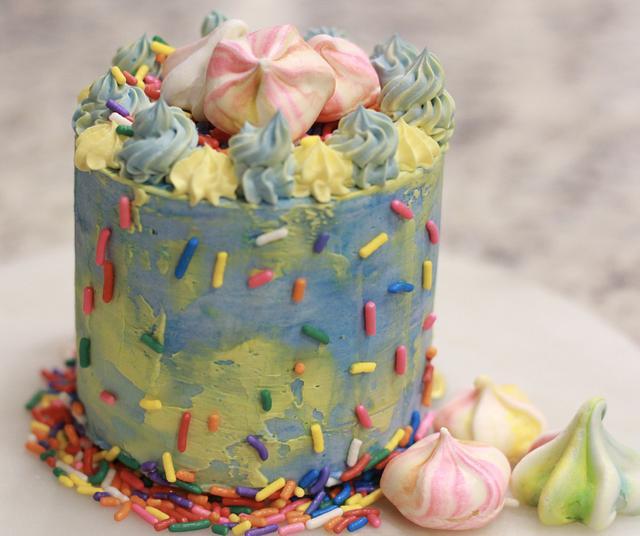 Sprinkle Mini Cake
