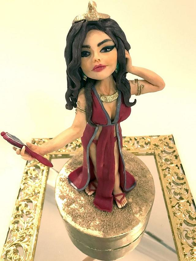 Cleopatra (Mysteries of Egypt, Cake Collaboration)