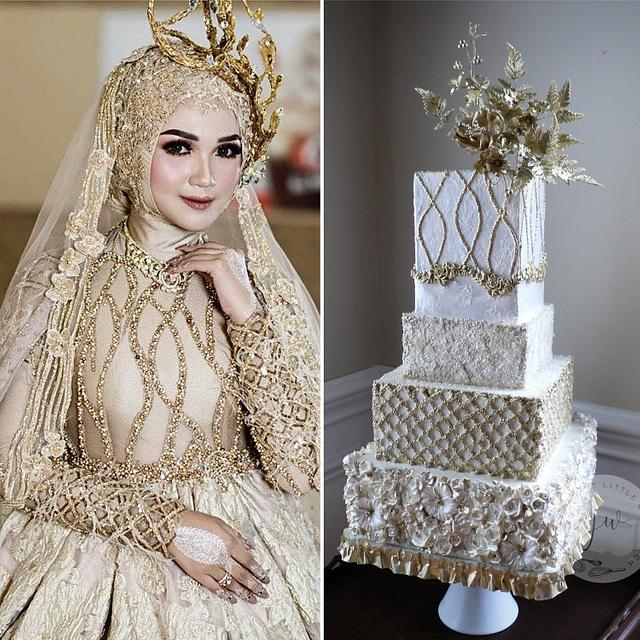 Hijab Bridal Dresses by Couture Cakers Intl 2020