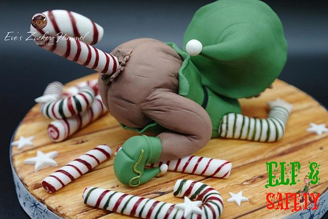 My Christmas Elf -Elf & Safety - A Cake Collective Collaboration 2020