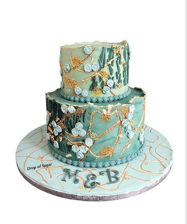 Buttercream Textured Cake