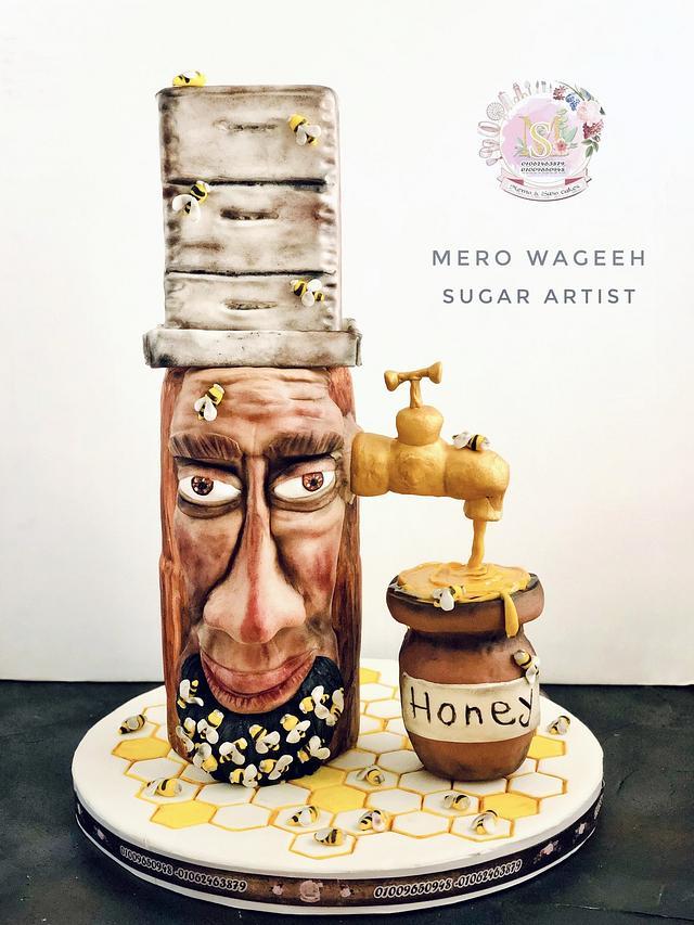 Honey Man 🍯🐝 - pottery Art international collaboration 2020