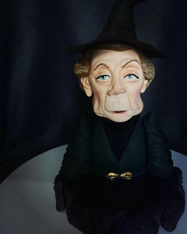 Mcgonagall figure bust