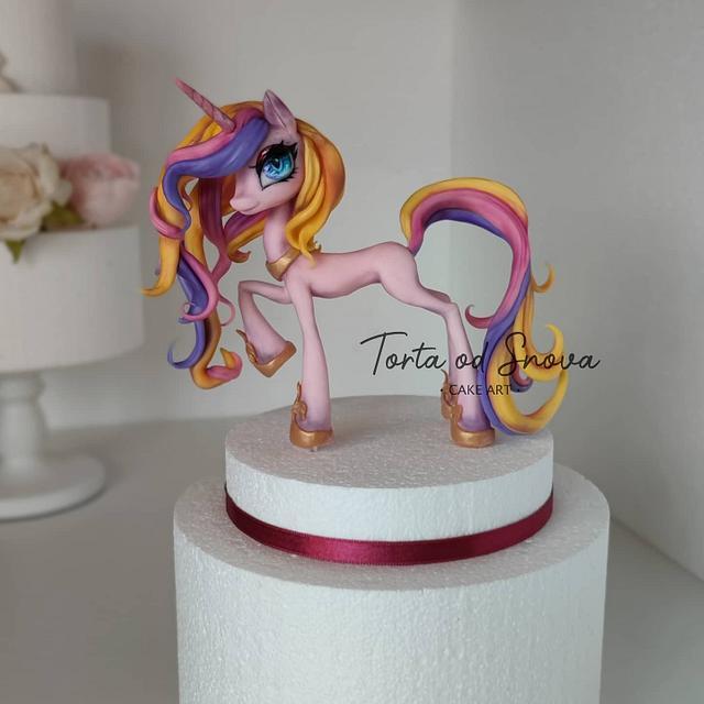 Mi Amore Cadenza aka Princess Cadance  cake topper 🎂