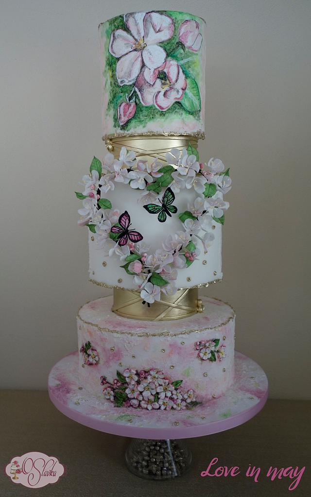 Competitive wedding cake