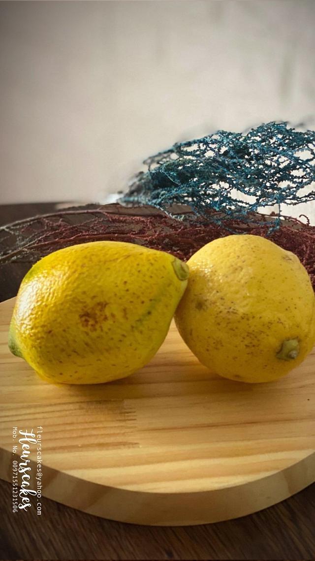 """""""Lemon Fruit"""" Cake"""
