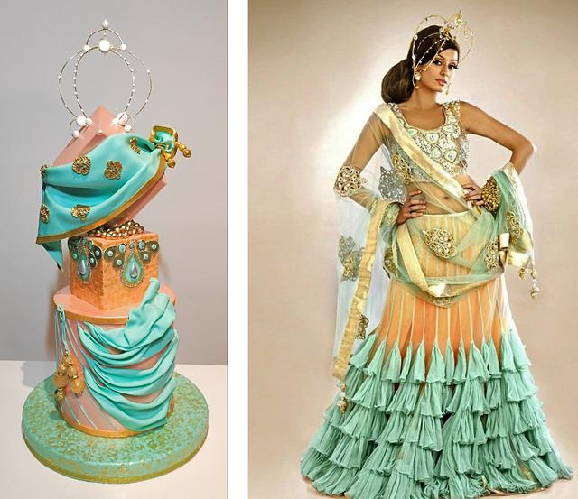 Indian Couture Collaboration