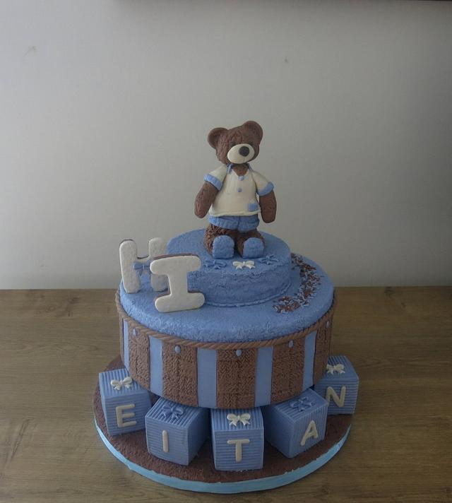A Teddy Welcome Cake