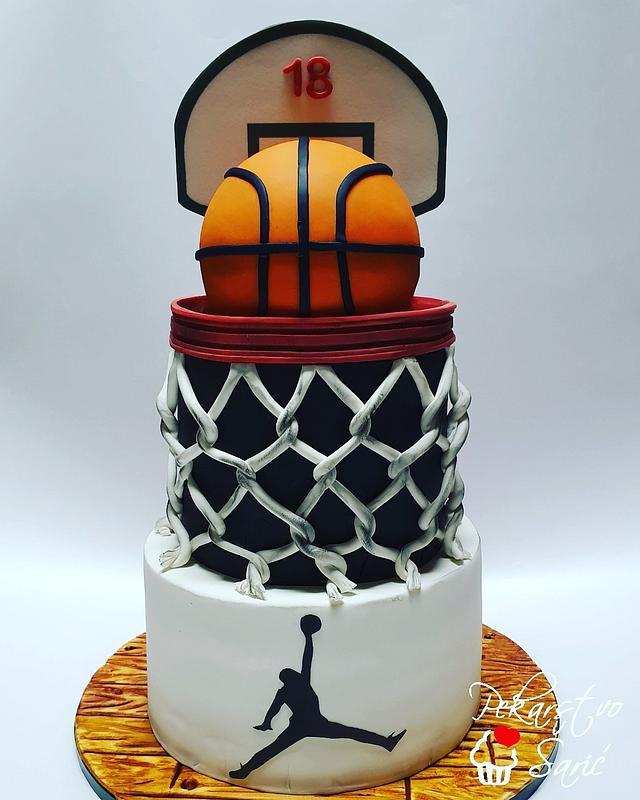 Basketball Cake! 🏀