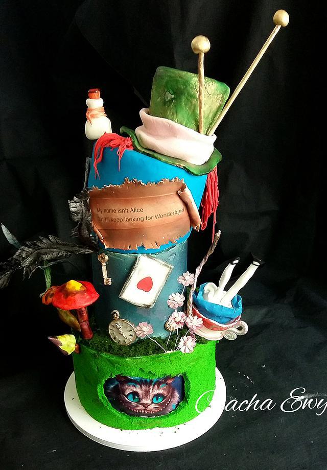 Alice in Wonderland -18 Birthday
