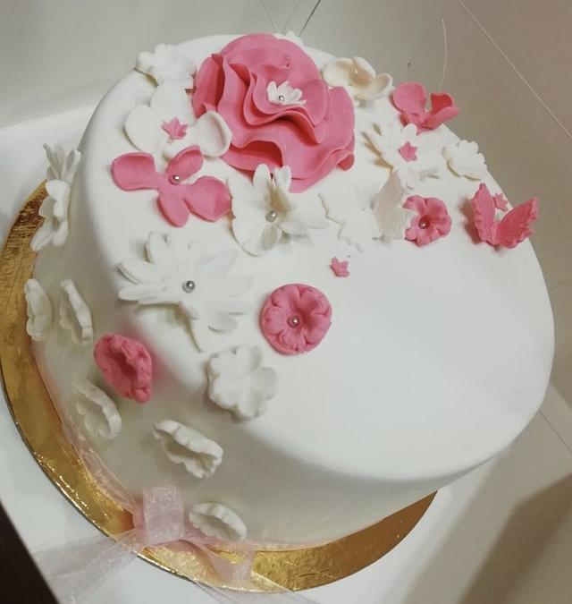 Remarkable Girl Birthday Cake Cake By Nourelnour Cakesdecor Birthday Cards Printable Trancafe Filternl